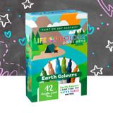 Life of Colour Paint Pens - Earth Colours 1.5mm Fine Tip