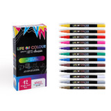 Life of Colour Paint Pens - Classic Colours 1mm Fine Tip