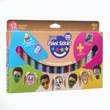 Little Brian Face Paint Sticks Classic Colours