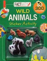 Factivity Wild Animals Sticker Activity