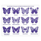 Shaped Memory Match Butterlies