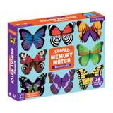Shaped Memory Match Butterlies