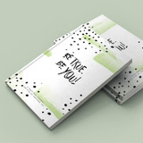 AWESOME INC. Mini Gratitude Journal for Kids ~ BE TRUE BE YOU!
