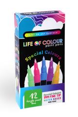 Life of Colour Paint Pens - Special Colours 1mm Fine Tip