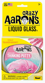 Crazy Aarons  Liquid Glass Putty ~ Rose Lagoon
