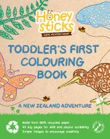 Honey Sticks Toddler's First Colouring Book