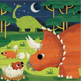 Magnetic Puzzles ~ Mighty Dinosaurs Mudpuppy