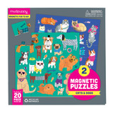 Magnetic Puzzle ~ Cats & Dogs mudpuppy
