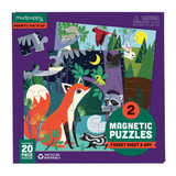 Magnetic Puzzles ~ Forest Night & Day  mudpuppy