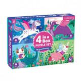 4 in a Box Puzzle Set ~ Magical Friends mudpuppy