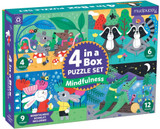 4 in a Box Puzzle Set ~ Mindfulness  mudpuppy