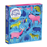 500 Piece Puzzle ~ Mammals with Mohawks  mudpuppy