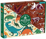 100 Piece Double Sided Puzzle ~ Dinosaur Dig mudpuppy