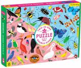 100 Piece Double Sided Puzzle ~ Bugs & Birds mudpuppy