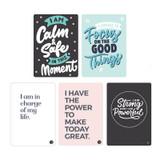AWESOME INC. Positive Affirmation Card Set