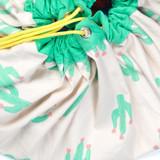 Play & Go Toy Storage Bag Playmat ~ Cactus