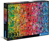 1000 Piece Puzzle - Colourboom Collection Collage