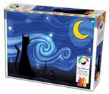 500 Piece Puzzle - Mrowwy Night