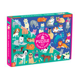 100 Piece Double Sided Puzzle ~ Cats and Dogs