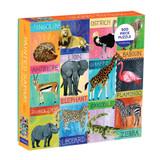 500 Piece Puzzle - Painted Safari