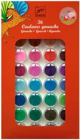 36 Paint Colour Cakes