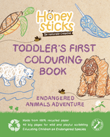 Toddler's First Colouring Book ~ Endangered Animals