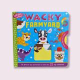 Wonder Wheel Board Book ~ Wacky Farmyard