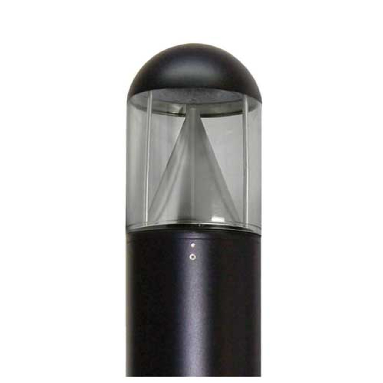 15 Watt LED Bollard Dome Top Cone Reflector