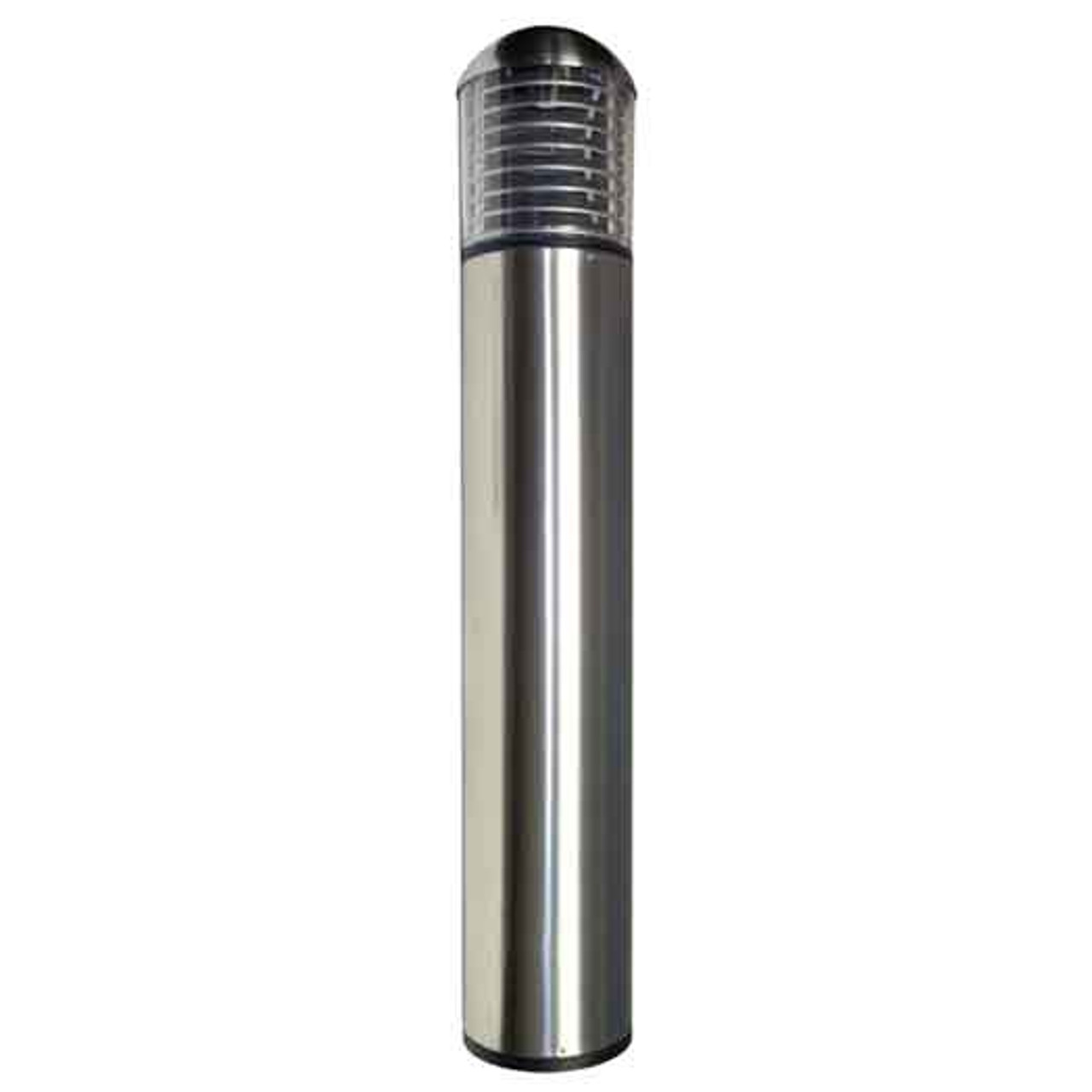 Stainless Steel 15W LED Bollard Dome Top Louvers