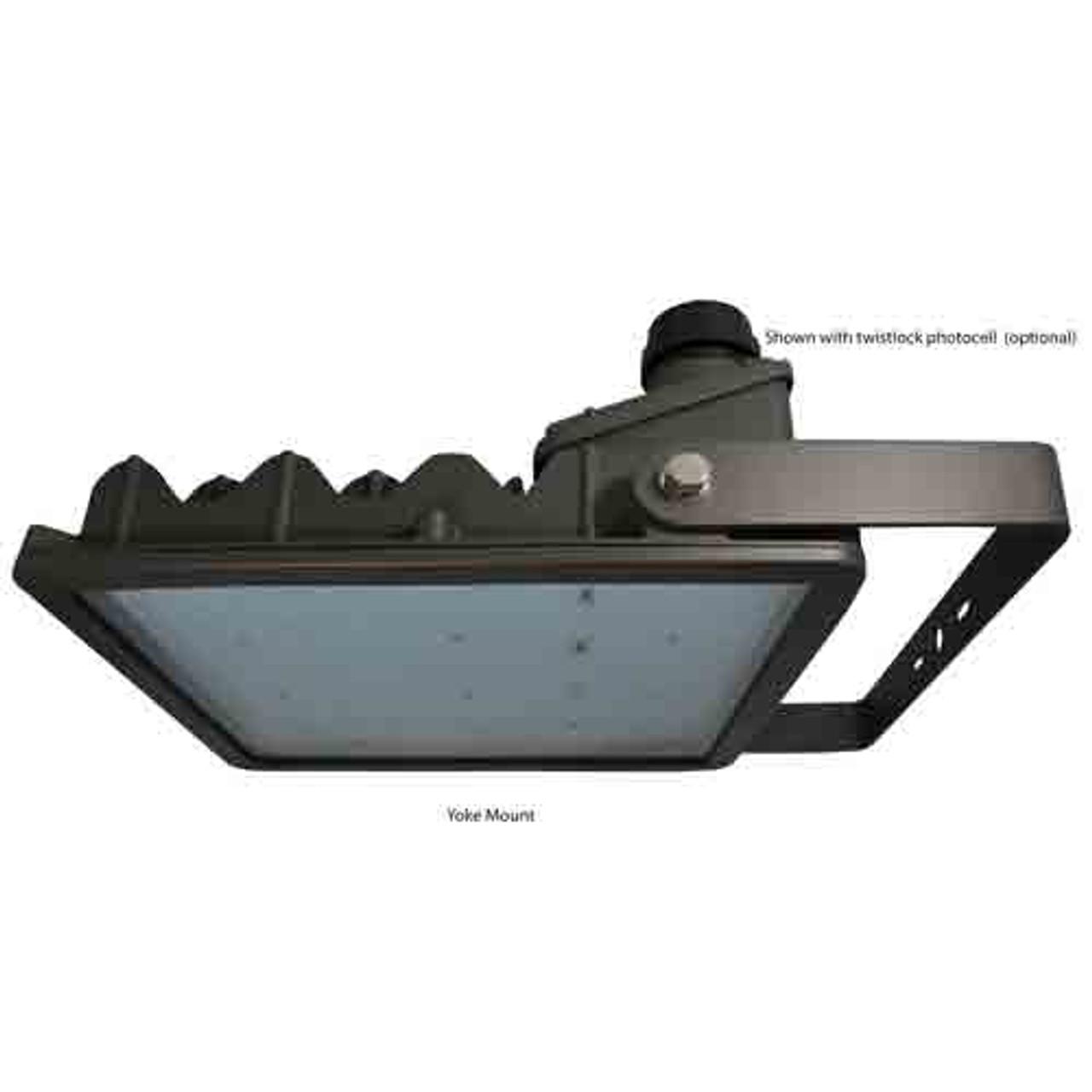175 Watt LED Area Light 16,964 Lumens with Yoke Mount