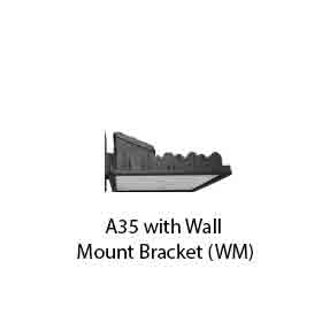 A35 with Wall Mount Bracket (WM)