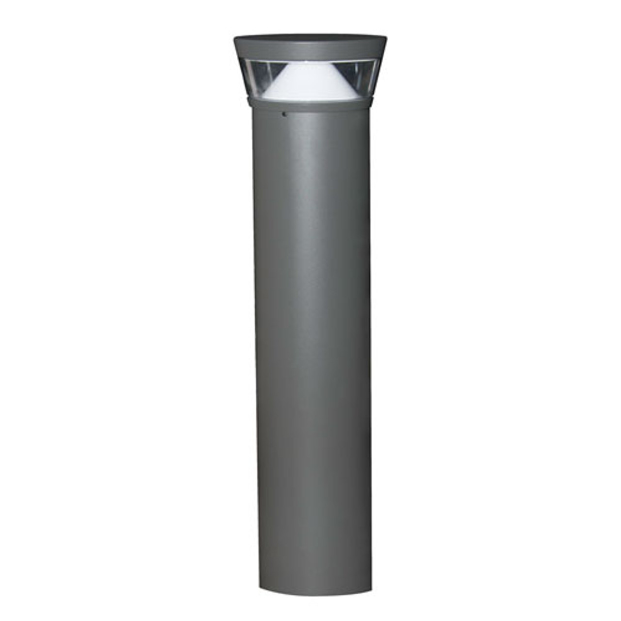 20 Watt LED Bollard Tri-Top with Cone Reflector