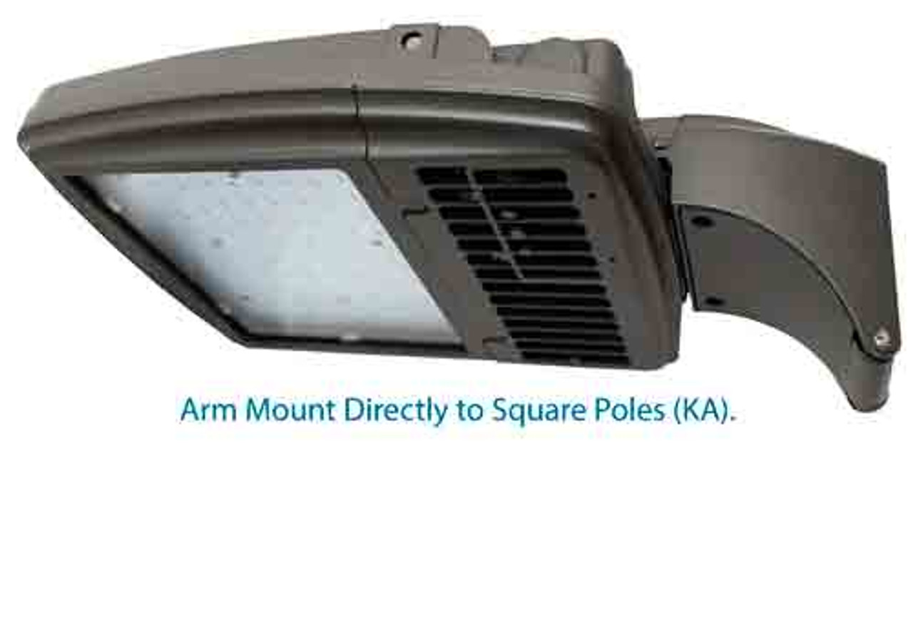 Mounts Directly to Square Poles.