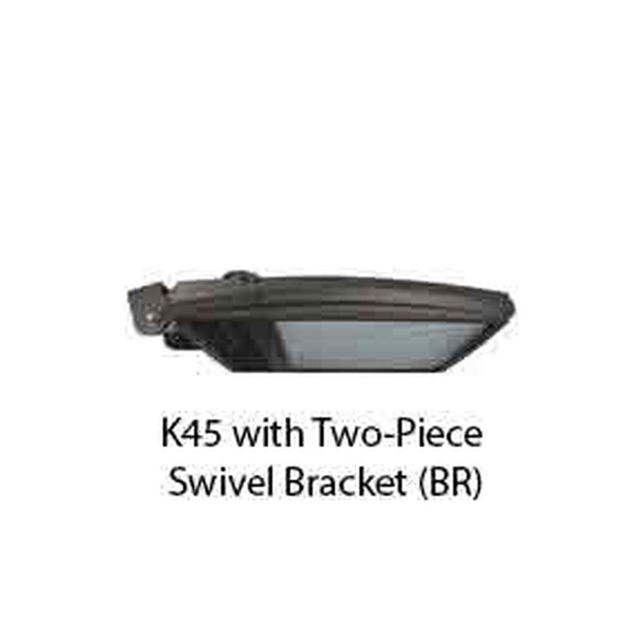 K45 with Two-Piece Swivel Bracket (BR)