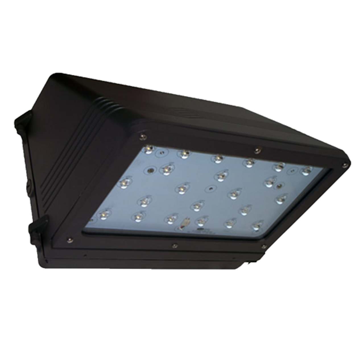 37 Watt LED Medium Full Cutoff Wall Pack Bottom View