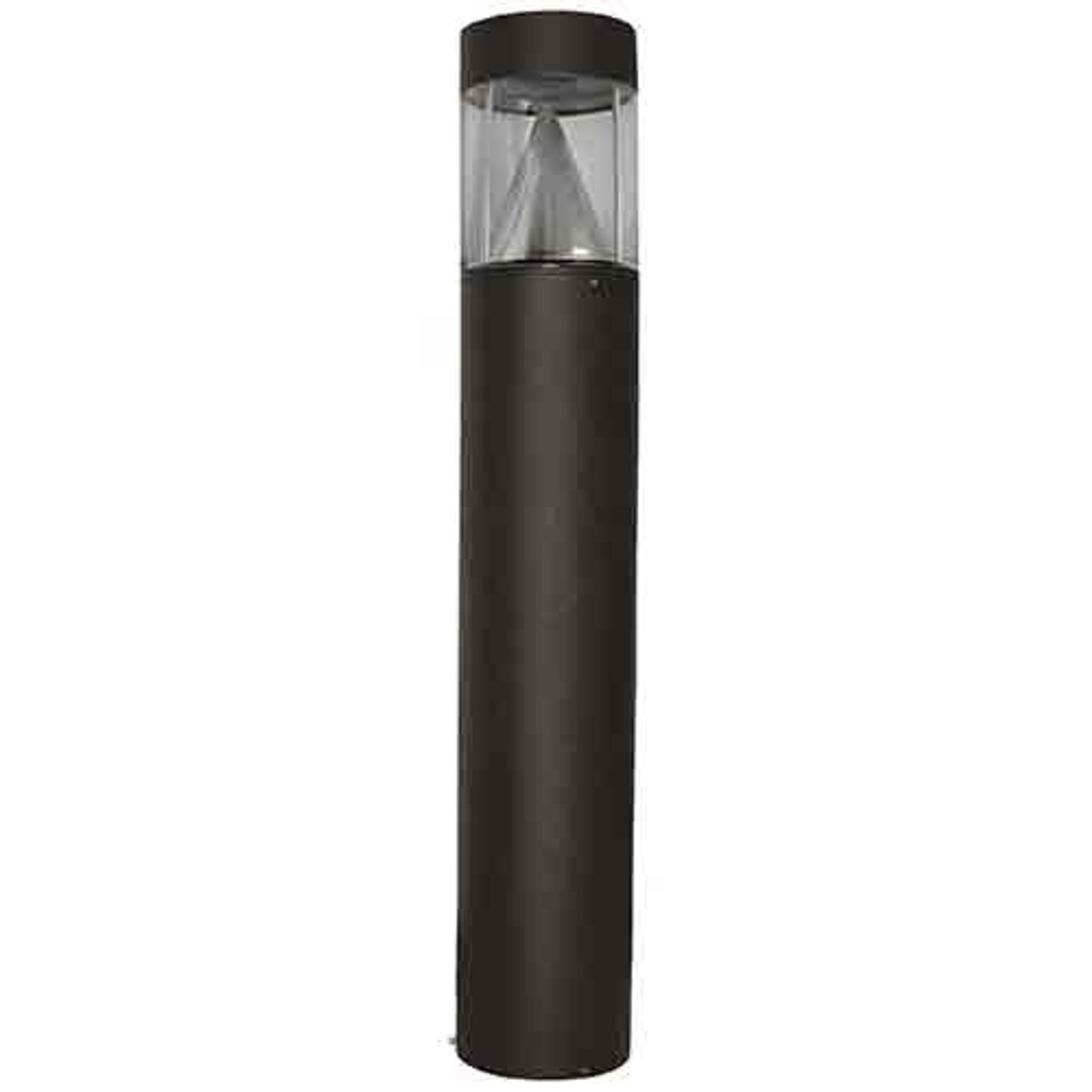 15 Watt LED Lighting Bollard Flat Top Cone Reflector