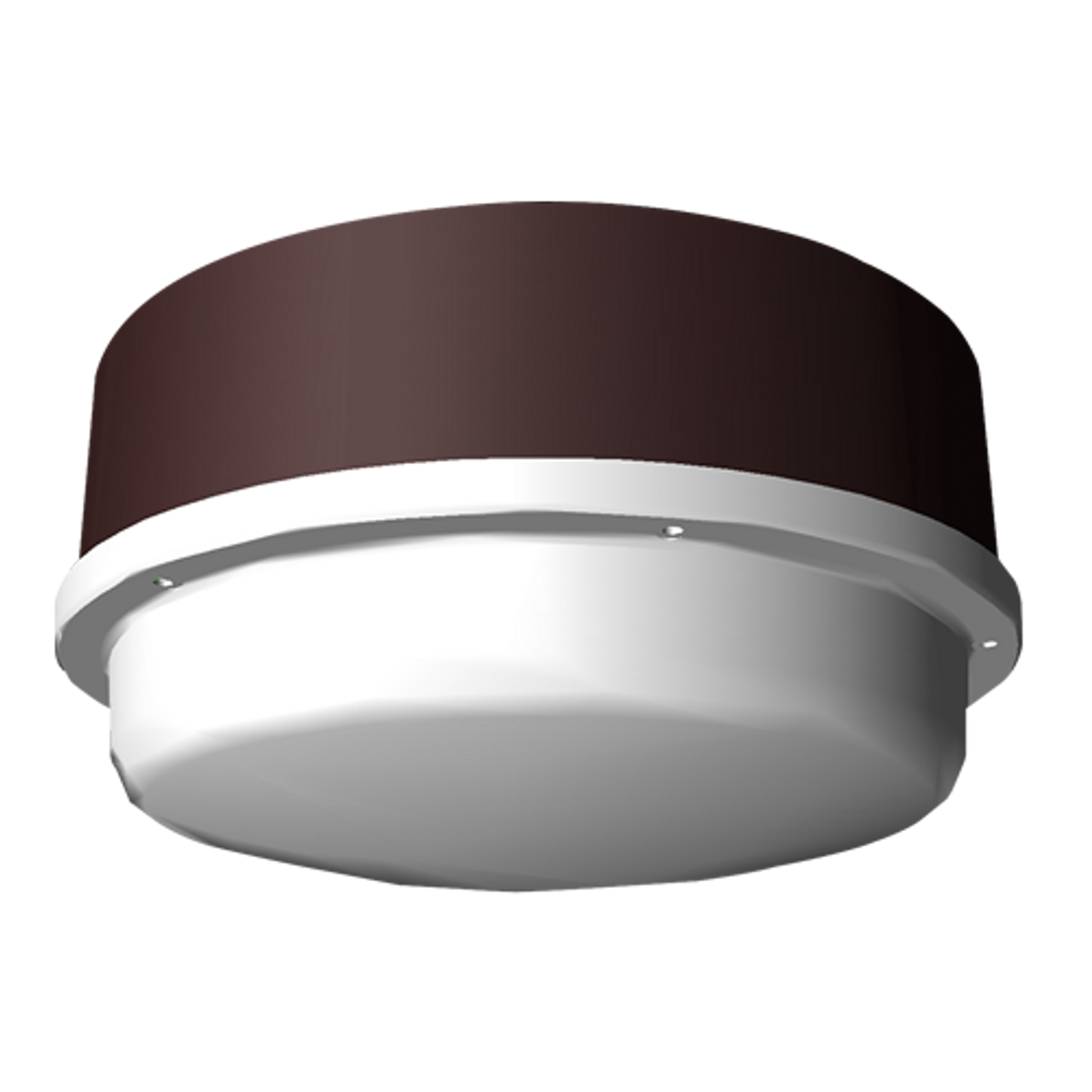 34 Watt Round LED Canopy Light