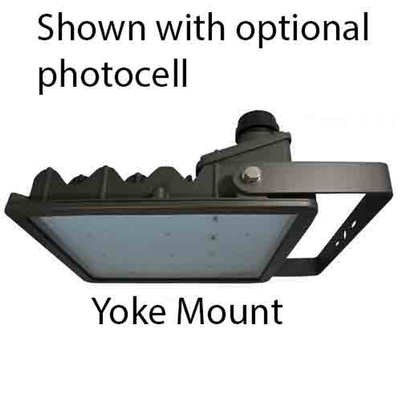 262 Watt LED Area Light 26,264 Lumens with yoke mount