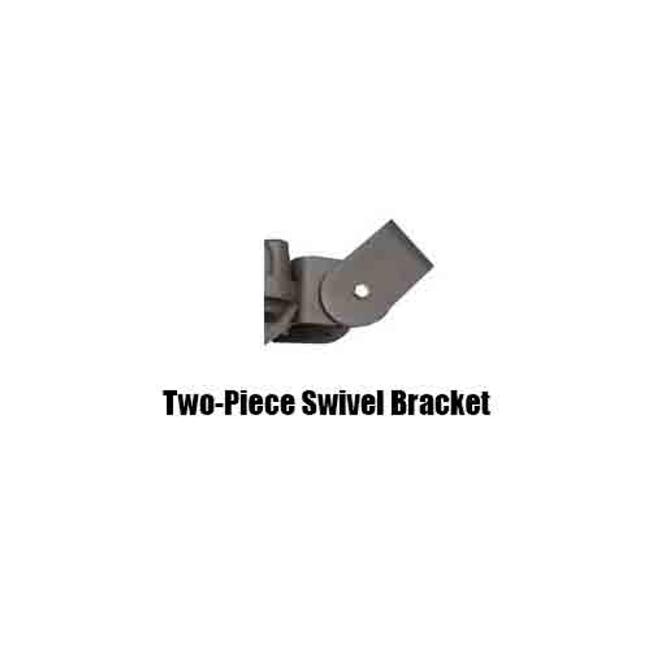 LED 80 Watt Wall Pack 2 piece Bracket