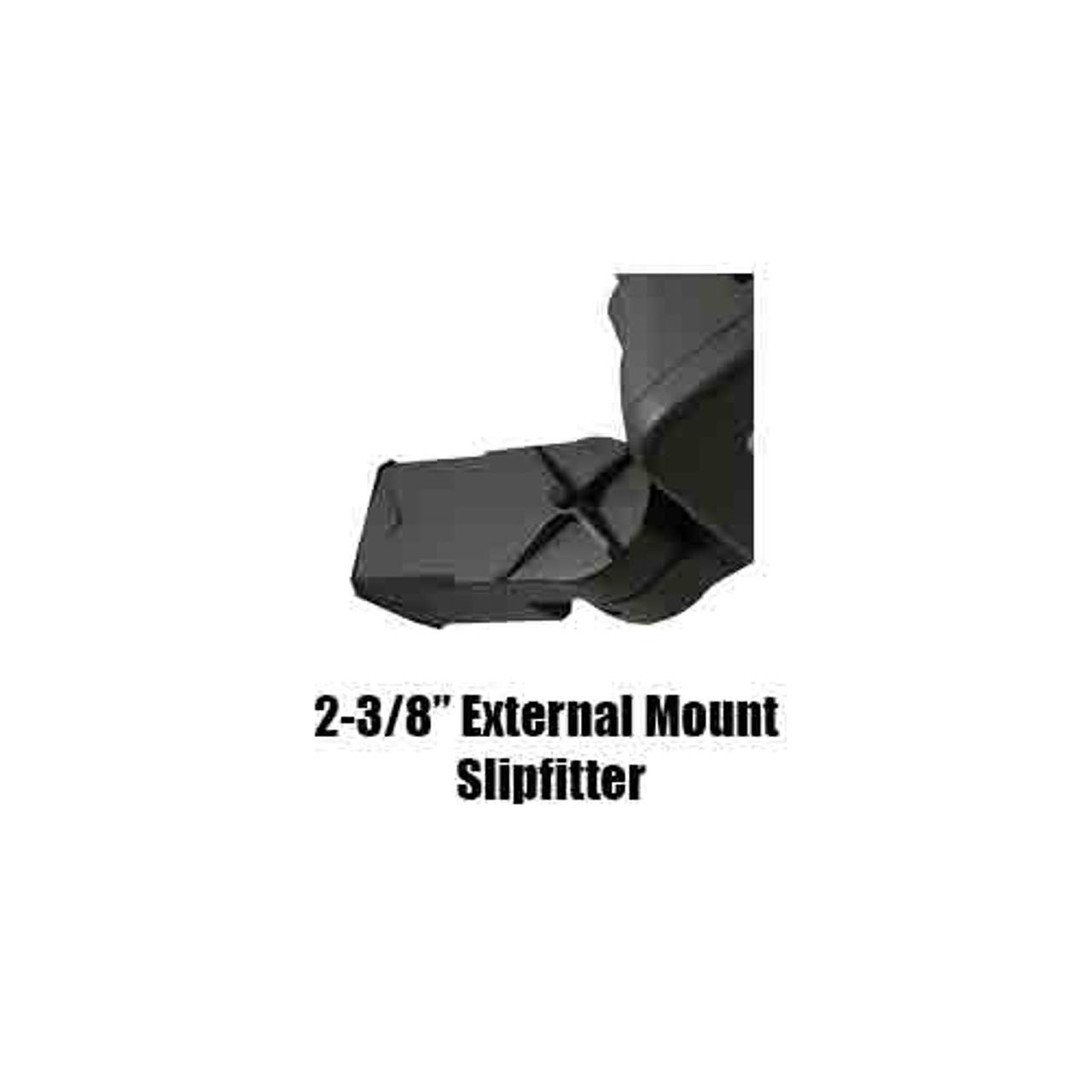 LED 80 Watt Wall Pack Slip-fitter