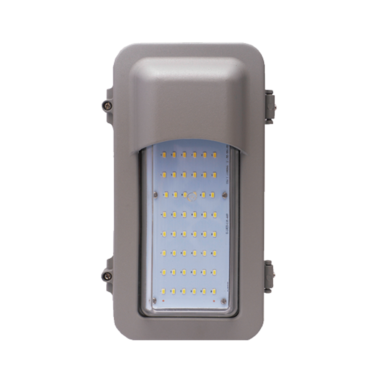 22 Watt LED Explosion Proof Vertical Cutoff Hood Linear Light