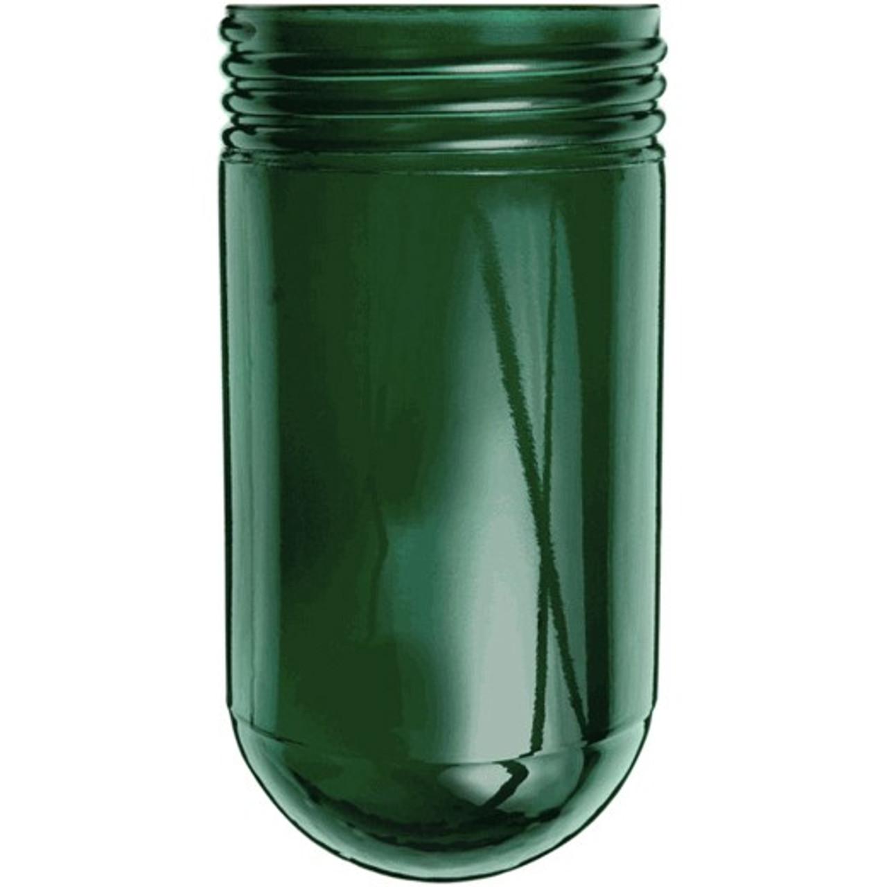 Green Mason Jar Glass