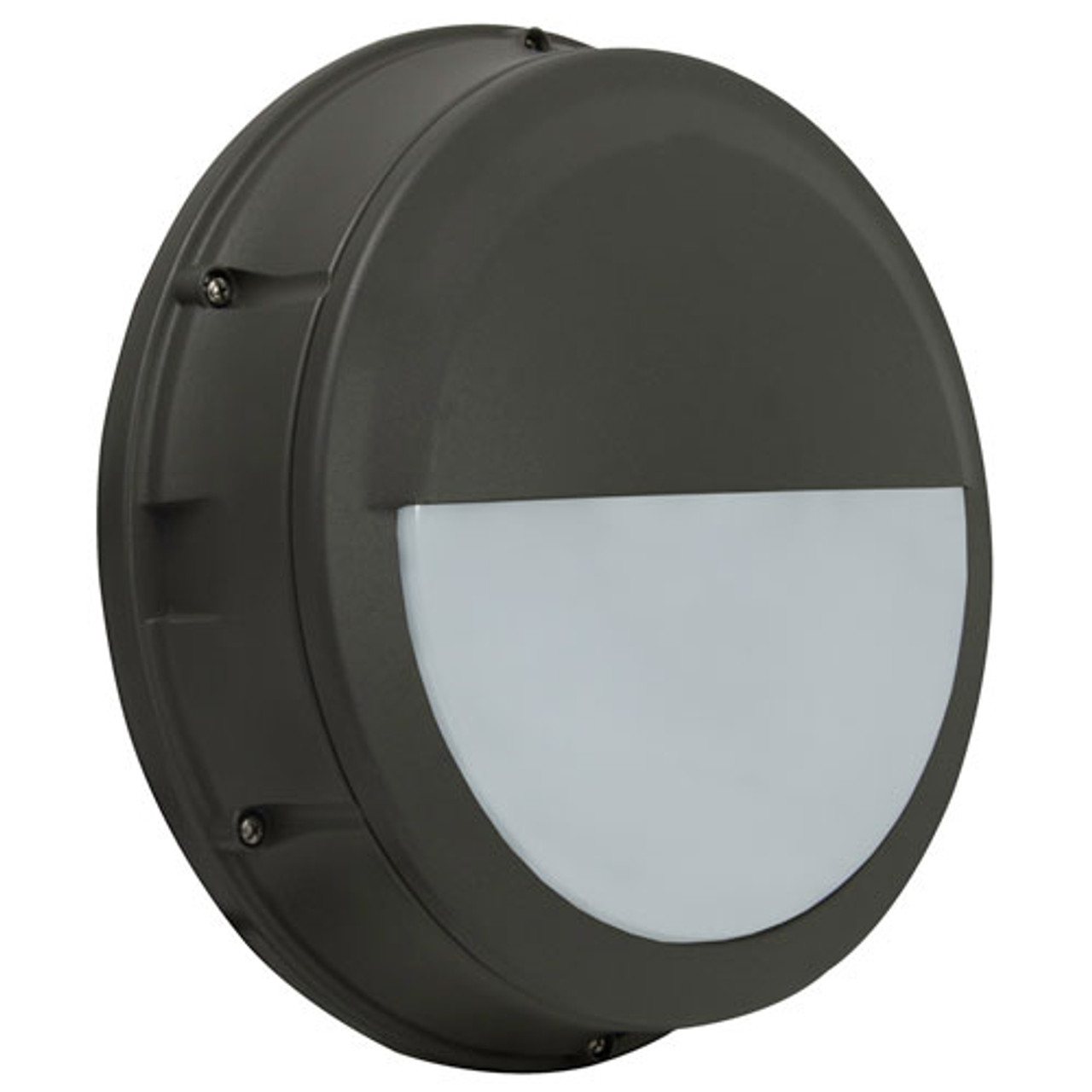 """12"""" LED 17W Bulkhead Cutoff Round Wall Light"""