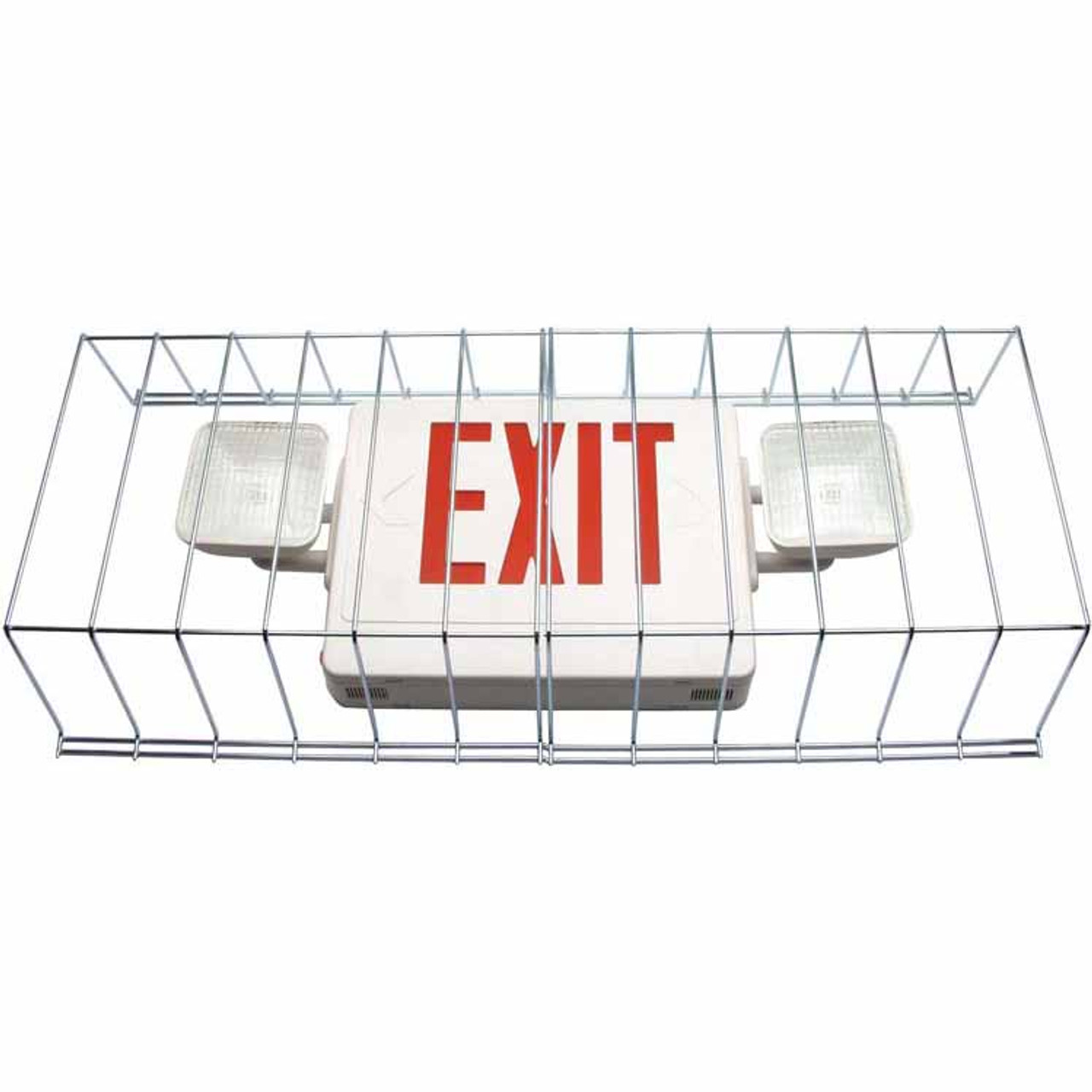 "30"" Wire Guard for Exits and Emergency Unit's"