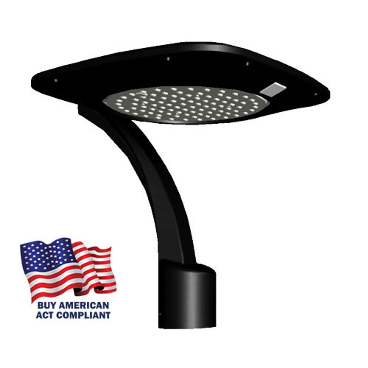100 Watt Aeroform Square Post Tops Street Light