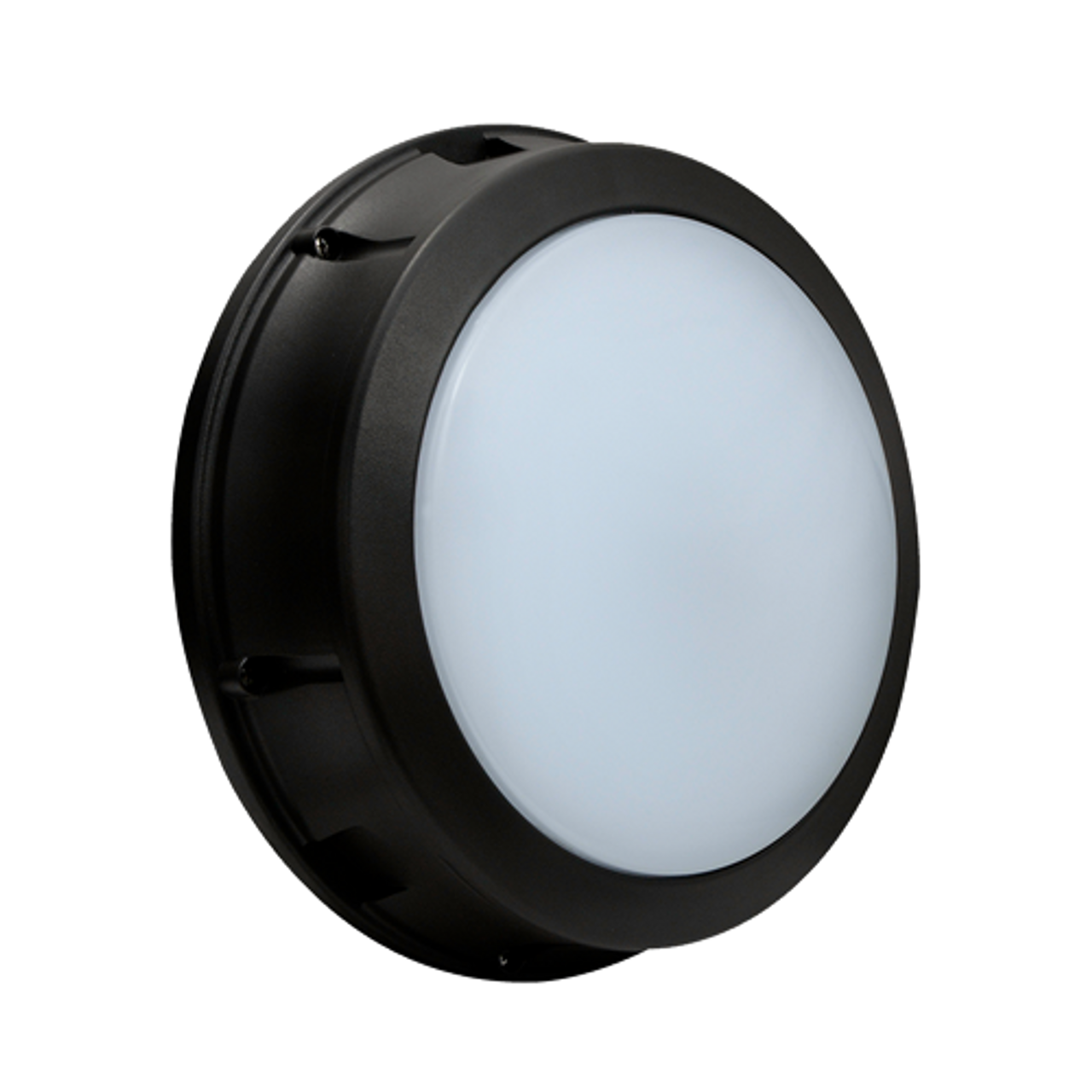 17W LED Bulkhead Open Wall Light with Emergency Battery Back-up