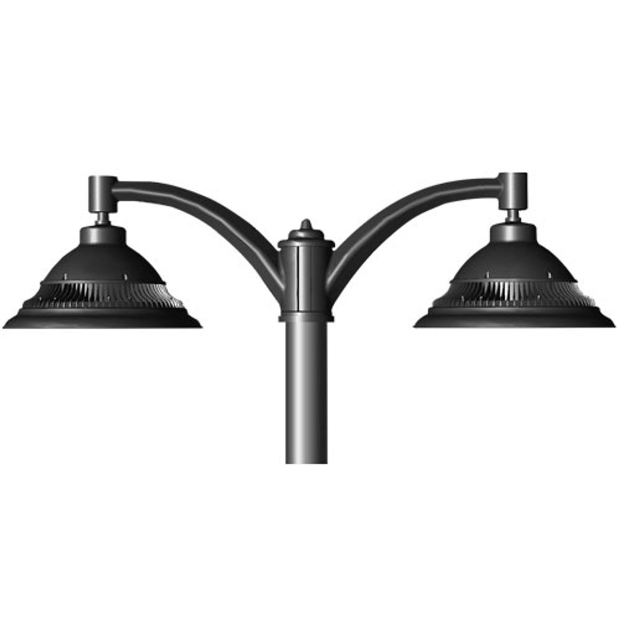 Bell 2 x 37 Watt Pendant LED Decorative Pole Mounted