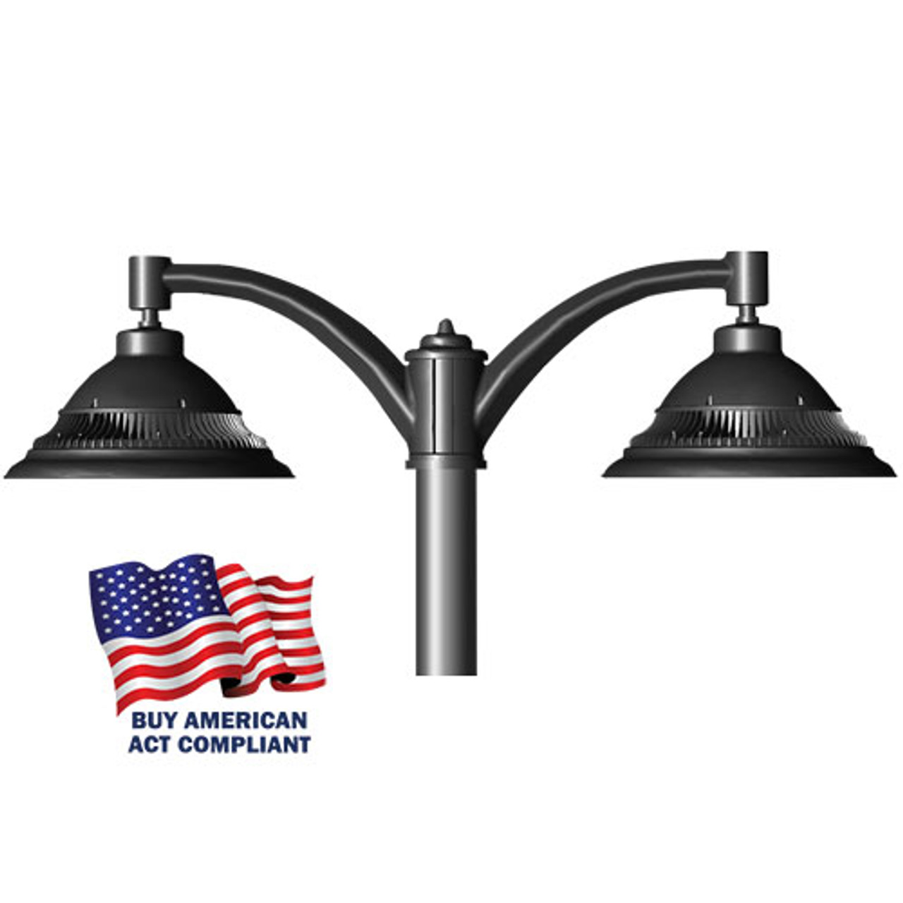 Pendant LED Decorative Pole Mounted 37 Watt