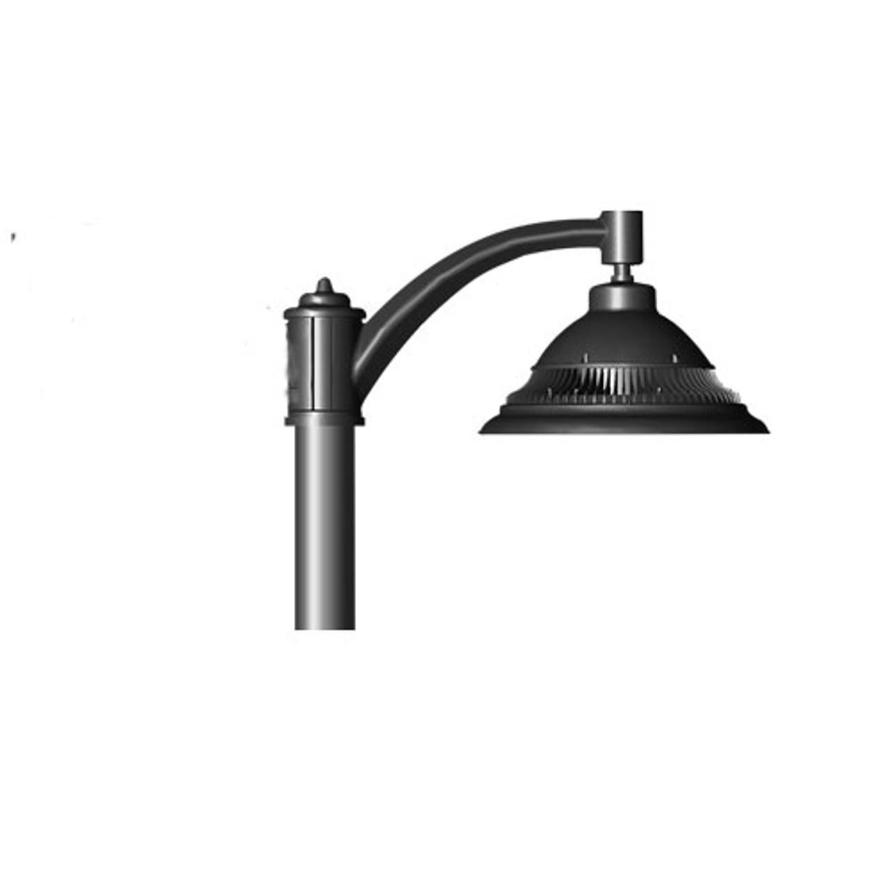 Single Pendant 84 Watt LED Decorative Pole Mounted