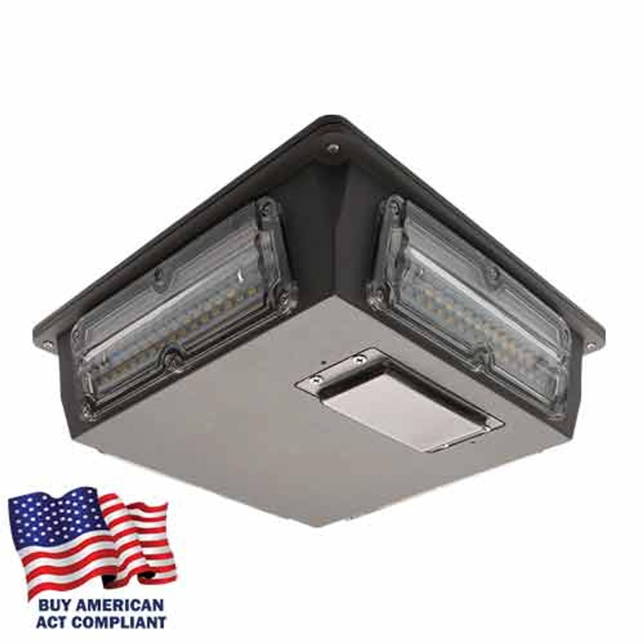 60 Watt LED Parking Garage Light Buy America Act